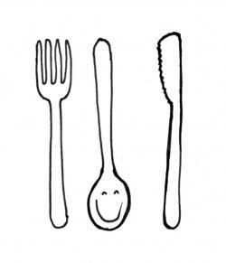 Drawn fork