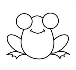 Drawn toad cartoon