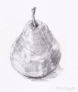 Drawn pear easy