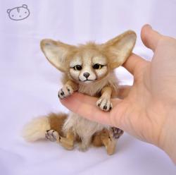 Drawn furry fennec fox