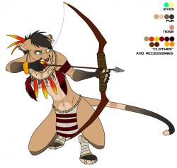 Drawn cougar furry