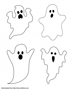 Drawn ghostly simple