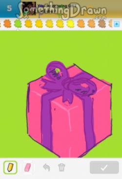 Drawn gift gift