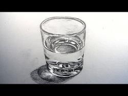 Drawn mug water