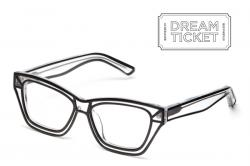 Drawn goggles transparent