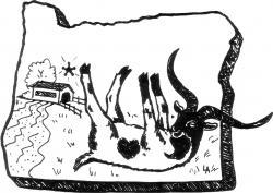 Drawn goat