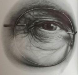 Drawn glasses lee hammond