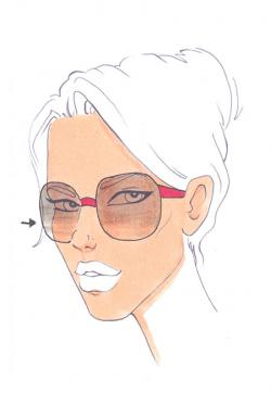 Drawn sunglasses shades
