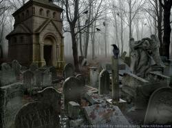 Drawn graveyard sleep
