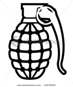 Drawn grenade happy