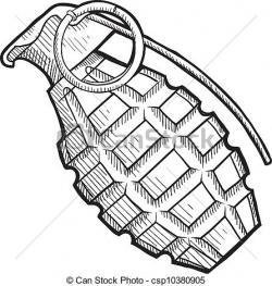 Drawn grenade school