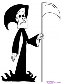 Grim Reaper clipart billy and mandy