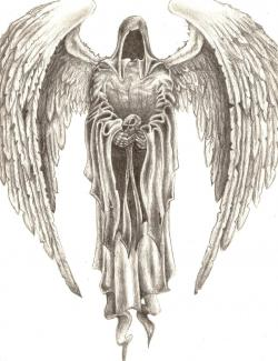 Drawn wings death angel
