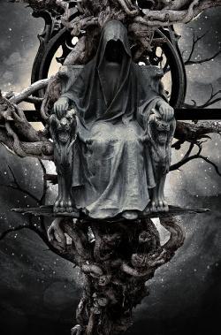 Drawn grim reaper lord
