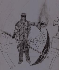 Drawn grim reaper original