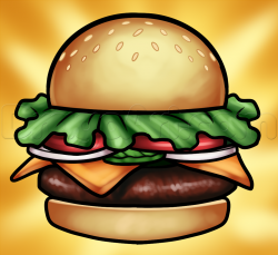 Burger clipart krabby patty