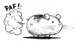 Drawn hamster regular