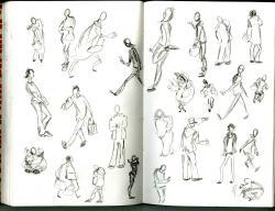 Drawn hand gesture