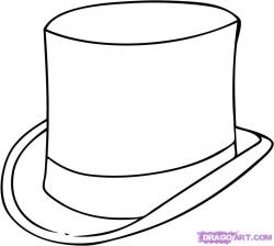 Drawn top hat