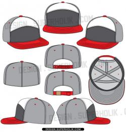 Capped clipart snapback hat
