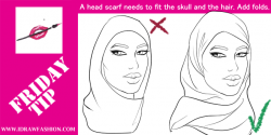 Drawn scarf head scarf