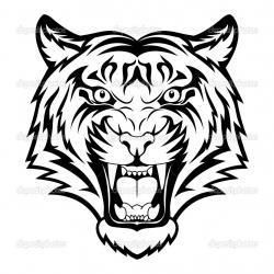 Fangs clipart tiger
