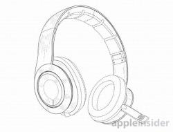 Drawn headphones beats headphone