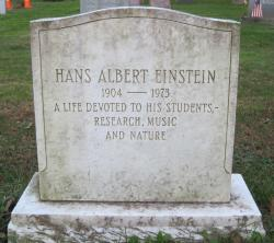 Drawn tombstone albert einstein