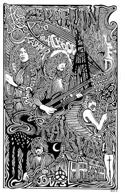 Drawn heaven led zeppelin