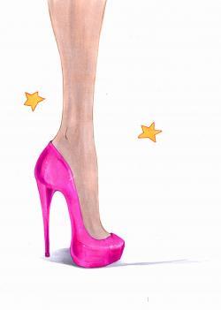 Drawn heels