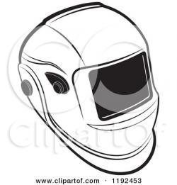 Helmet clipart welder