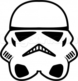 Stormtrooper clipart drawing