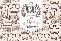 Drawn hipster