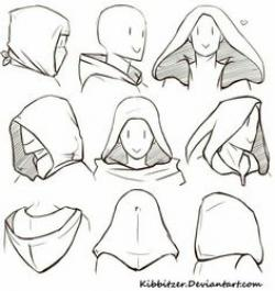 Drawn hood