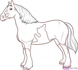 Clydesdale clipart kabayo