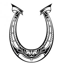 Drawn horseshoe