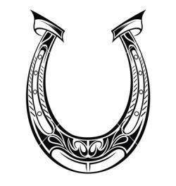 Drawn horseshoe