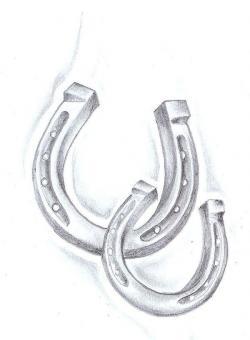 Drawn horseshoe tiny