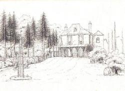 Drawn hosue rich house