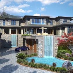 Drawn house rich house