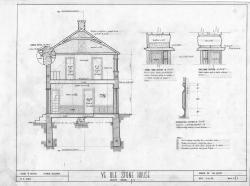 Drawn hosue section house