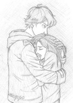 Drawn kisses relationship