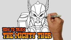 Drawn thor Drawing Wolverine