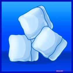 Drawn ice