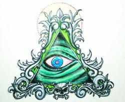 Drawn illuminati deviantart