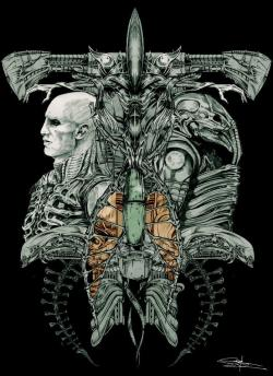 Xenomorph clipart evolution prometheus