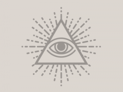 Drawn illuminati simple