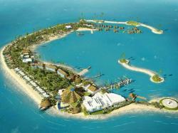 Drawn islet banaba island