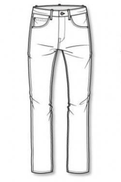 Drawn jeans