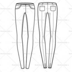 Drawn jeans skinny